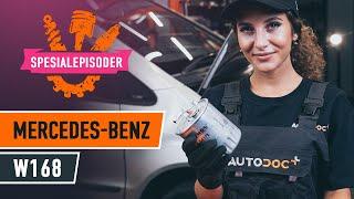Skifte Drivstoffilter MERCEDES-BENZ A-CLASS: verkstedhåndbok