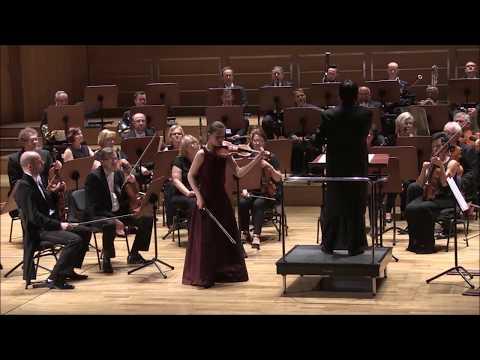 H.Wieniawski, Violin Concerto No.1 F sharp minor op.14, Allegro Moderato (Marta Gębska)