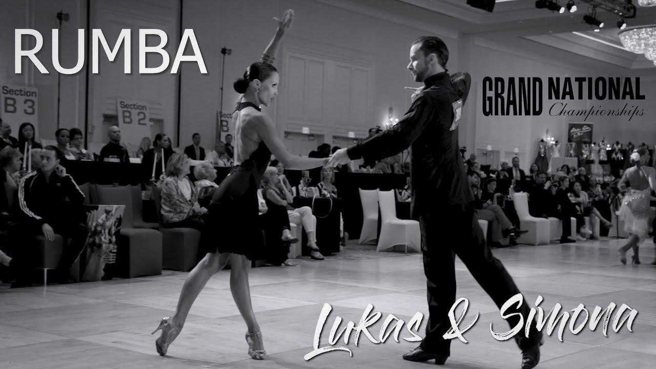 Lukas and Simona Alisauskas I Rumba I  Grand National 2019