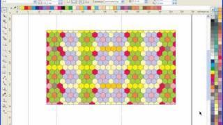 Уроки CorelDRAW: шестиугольники - создаем орнаменты