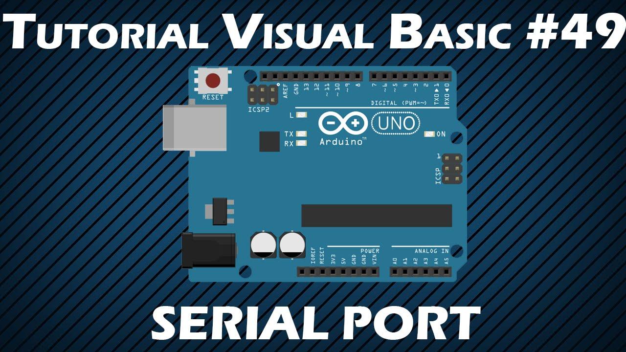 Visual studio c# serial communication (serial port) tutorial 6. Gui.