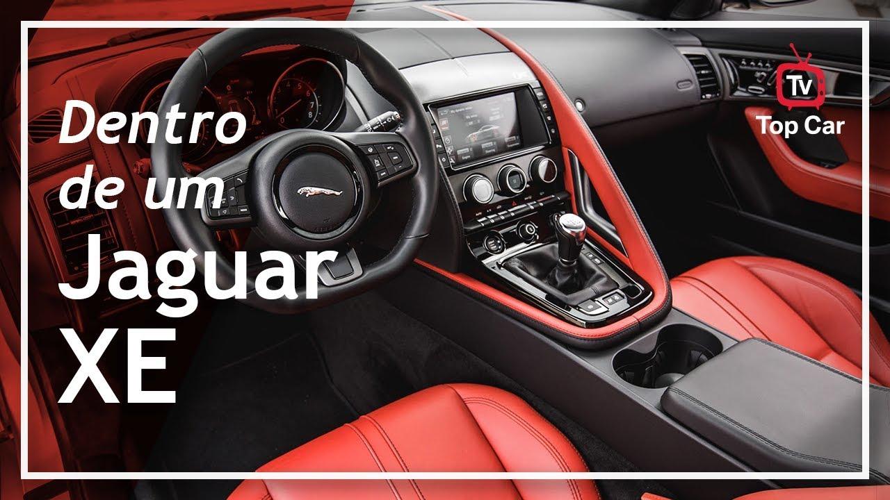 2018 Jaguar XE - Por dentro de um sedan esportivo de luxo!!