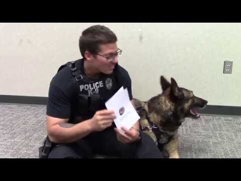 Police Officers React to Thank You Cards