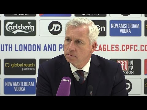 Crystal Palace 1-2 Manchester City - Alan Pardew Full Post Match Press Conference
