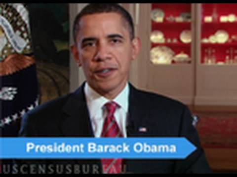 A 2010 Census Message from President Obama (:30)