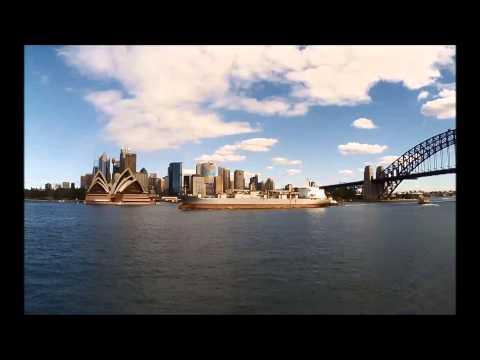 Sydney Harbour movements