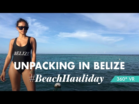 Unpacking & Hotel Room Tour: Belize Vacation in VR