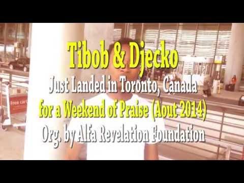 Djecko and Tibob De Nazareth Land in Toronto (8/15/14)