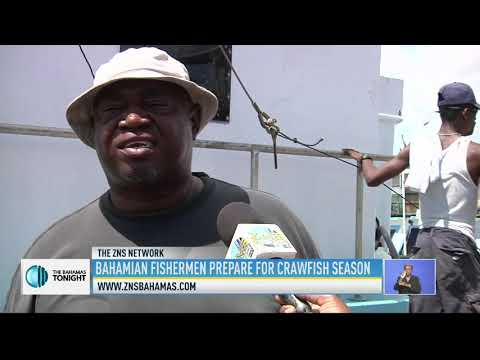 BAHAMIAN FISHERMEN PREPARE FOR CRAWFISH SEASON