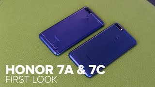 Honor 7A and 7C: Taking on Apple's face unlock