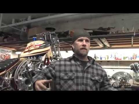 Paul Cox master fabricator (Free to Wander biker documentary)