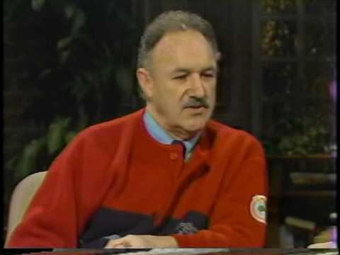 Gene Hackman on David Brenner's talk show, Nightlife -Part 2
