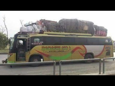 Kpk transport nice video crazy driver of Paki buses