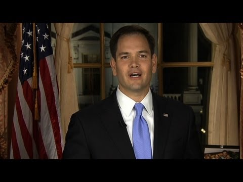 Rubio answers Obama, in Spanish and English