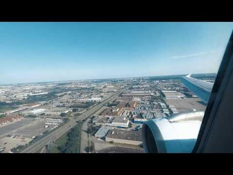 Air Canada A320 Landing At YYZ Toronto Canada