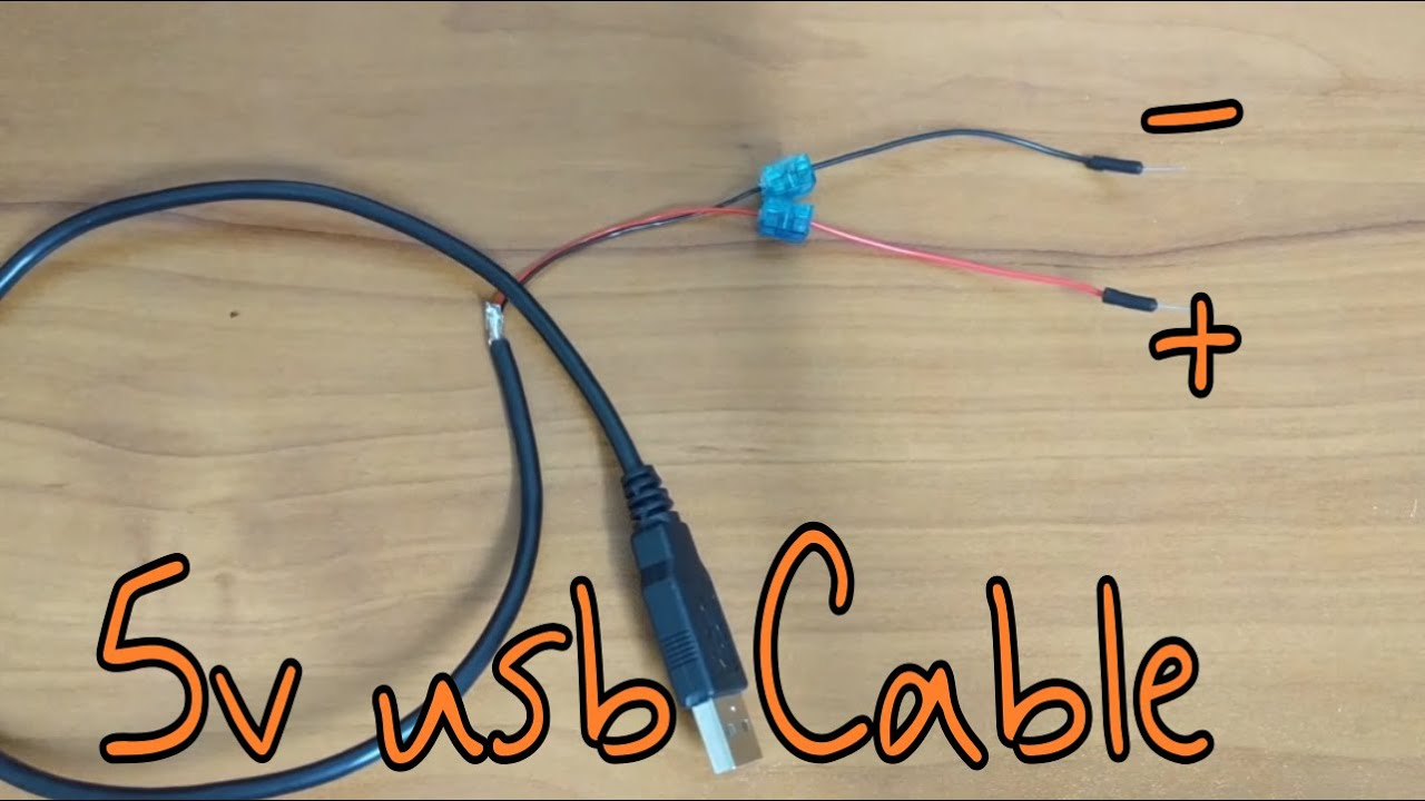 Tutorial   How to Make your own 40v USB power supply CABLE without  soldering