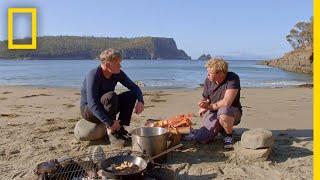 Crayfish Hunting in Tasmania | Gordon Ramsay: Uncharted