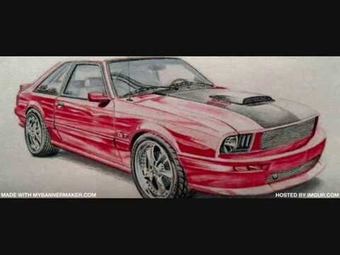 New fox body mustang concept