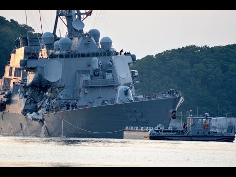 Pacific Update #USS Fitzgerald Collision 'Navy isn't sure how deadly destroyer collision happened