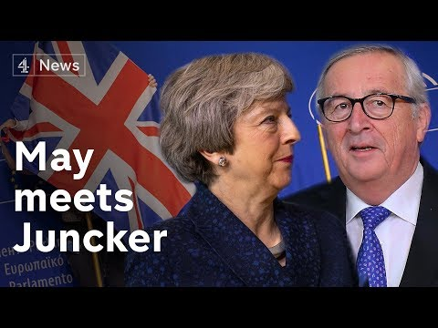50 days to Brexit: May holds 'robust but constructive' talks with Juncker