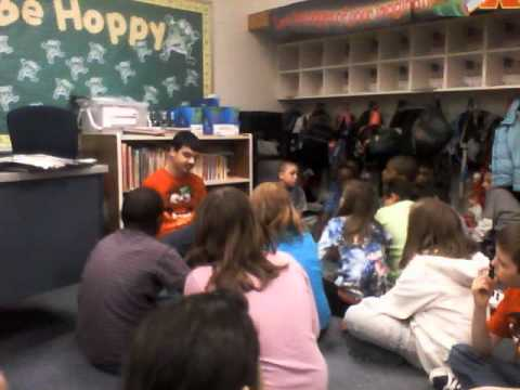 Henry Zahrn's Storytime with the 3rd Graders at Peifer, Oh Say Can You Say Di-no-saur?