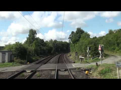 Führerstandsfahrt: Kassel Wilhelmshöhe - Altenbeken - Paderborn (August 2013)