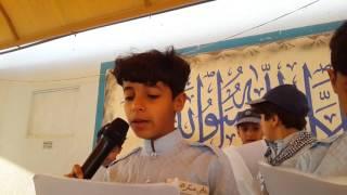 الإذاعة الصباحية لأشبال الرواد تحت إشراف القائد الكشفي أ / محمد عز الدين