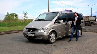Mercedes Viano 220 cdi  машина для заработка 200 тысяч в месяц