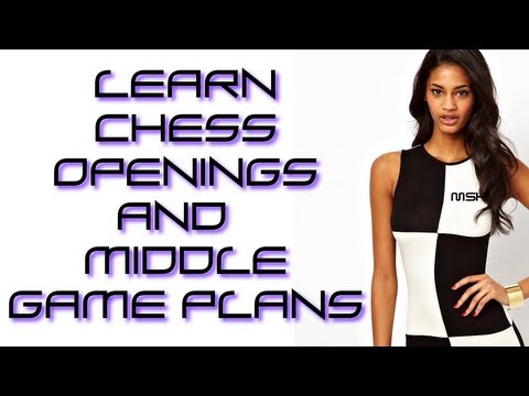 Chess lesson : Learn chess openings and middle games plans from pawn structure and master games