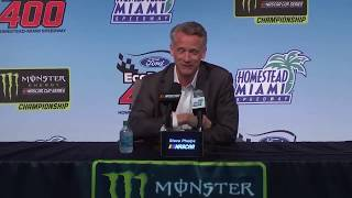 NASCAR addresses issues with the sport after Homestead Miami 2018