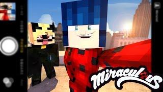 Minecraft: MIRACULOUS AS AVENTURAS DE LADYBUG #6 - CAT NOIR ESTÁ APAIXONADO PELA LADYBUG!!!?