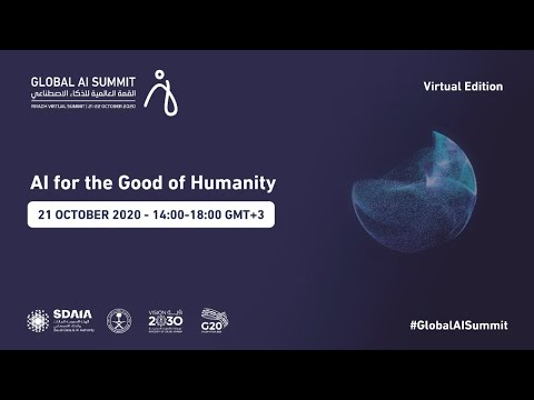 #GlobalAISummit - Day 1 Livestream - AI for the Good of Humanity