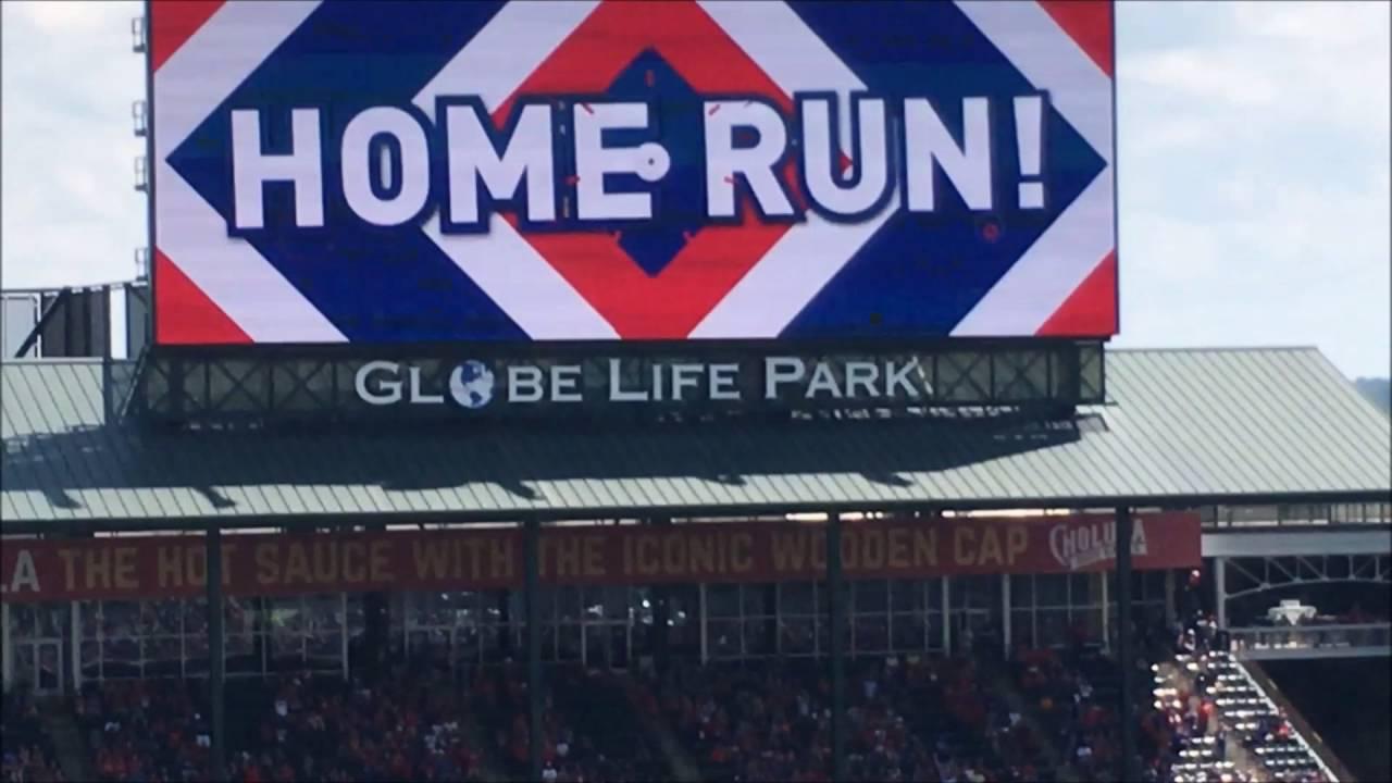 Fielders Solo Home Run Globe Life Park In Arlington Rangers Game 5 29 2016