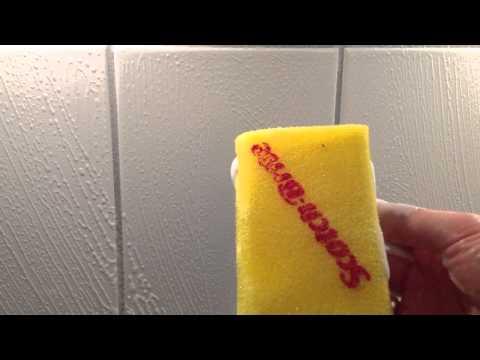 Badfliesen reinigen  Badezimmer putzen  YouTube