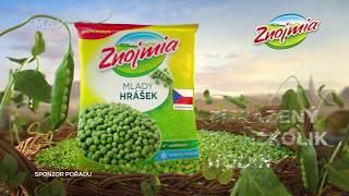 Spot Znojmia Mladý hrášek sponzoring Prima Max