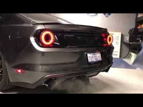 Raxium Tail Lights Mustang GT