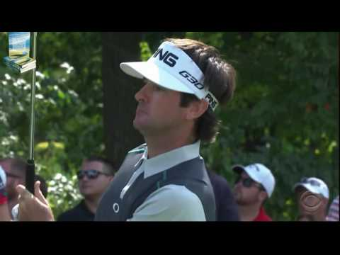 Bubba Watson's Fantastic Golf Shots from 2015 Barclays PGA Tour