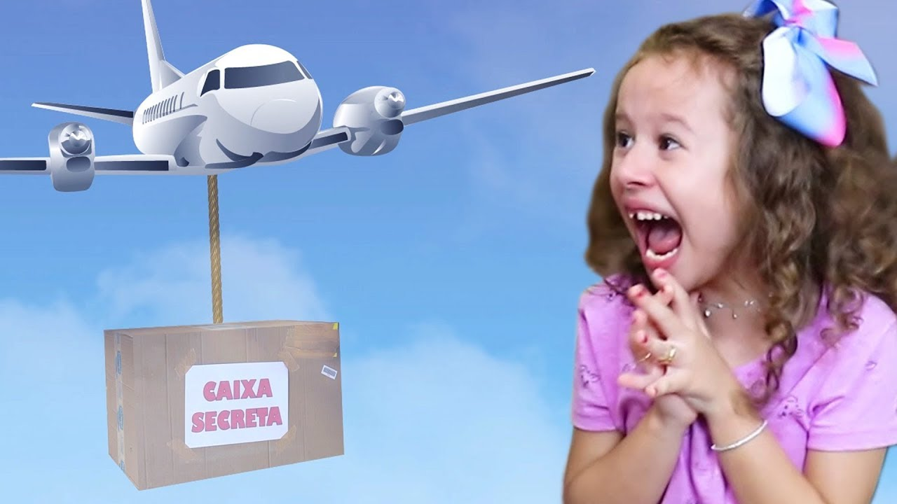 CAIXA SECRETA - VALENTINA pretend play with Magic Box for Girls