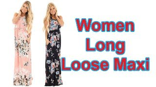 Best Sexy Women Long Loose Maxi Dresses Review