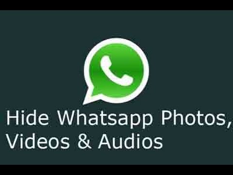 how to make whatsapp images invisible on gallery android