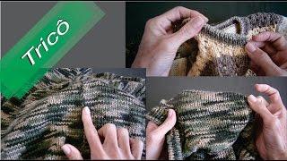 DIY - Tricô - Dicas de Acabamento e Arremate 01 (Passo a Passo)Mari Trentini