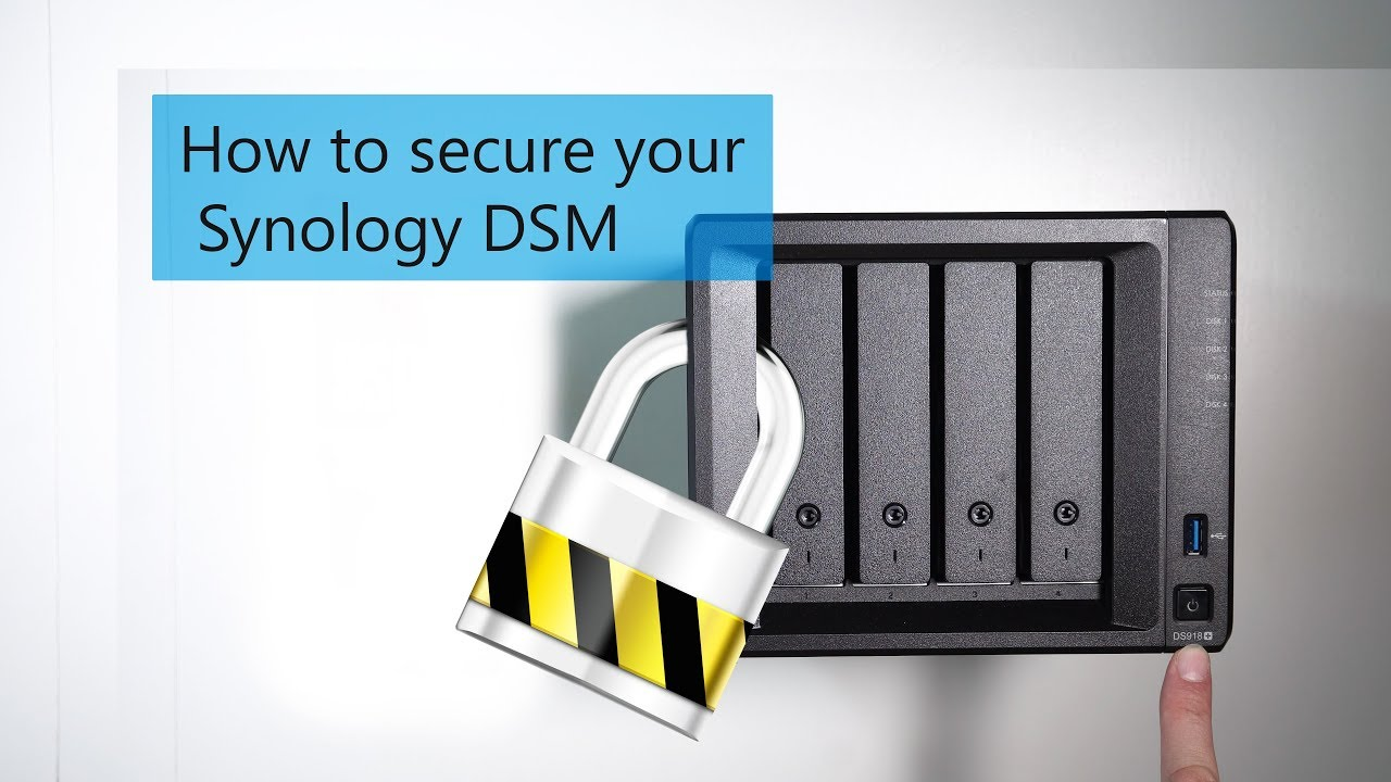 How to secure your Synology DSM