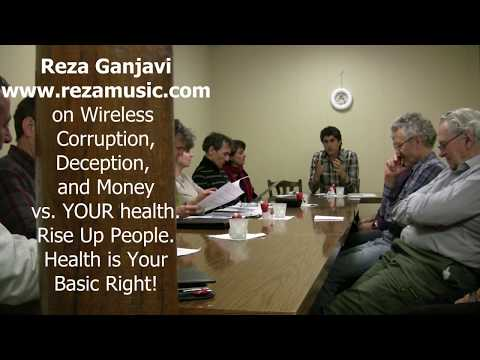 Wireless Deception Switzerland Toxic Cell Tower 5G Swisscom Salt UPC Sunrise. Reza Ganjavi