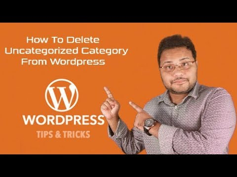 How To Delete Uncategorized Category  From Wordpress- Bangla Wordpress Tricks | #Tech-Bubble