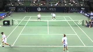 AIG JAPAN OPEN TENNIS CHAMPIONSHIPS 2006 1回戦 岩渕・鈴木 VS アーサーズ・フース