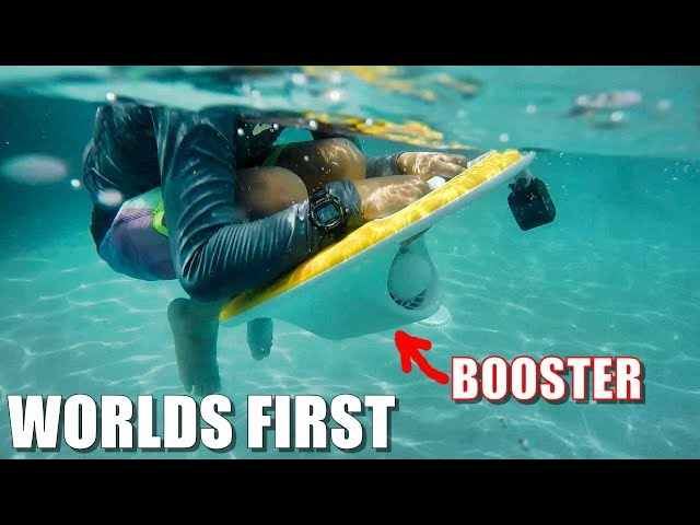 VXFLY LESWIM Review - World's First BOOSTED Swim Kickboard 😂🌊💦
