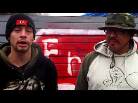 Warriors expressing support needs from Elsipogtog First Nation Anti-Fracking Blockade