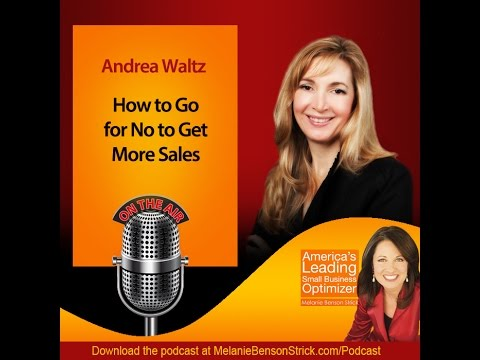 [Small Business Optimizer] Go for the No with Andrea Waltz
