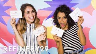 Internet Slang Challenge With Liza Koshy | YouTube Challenges | Refinery29