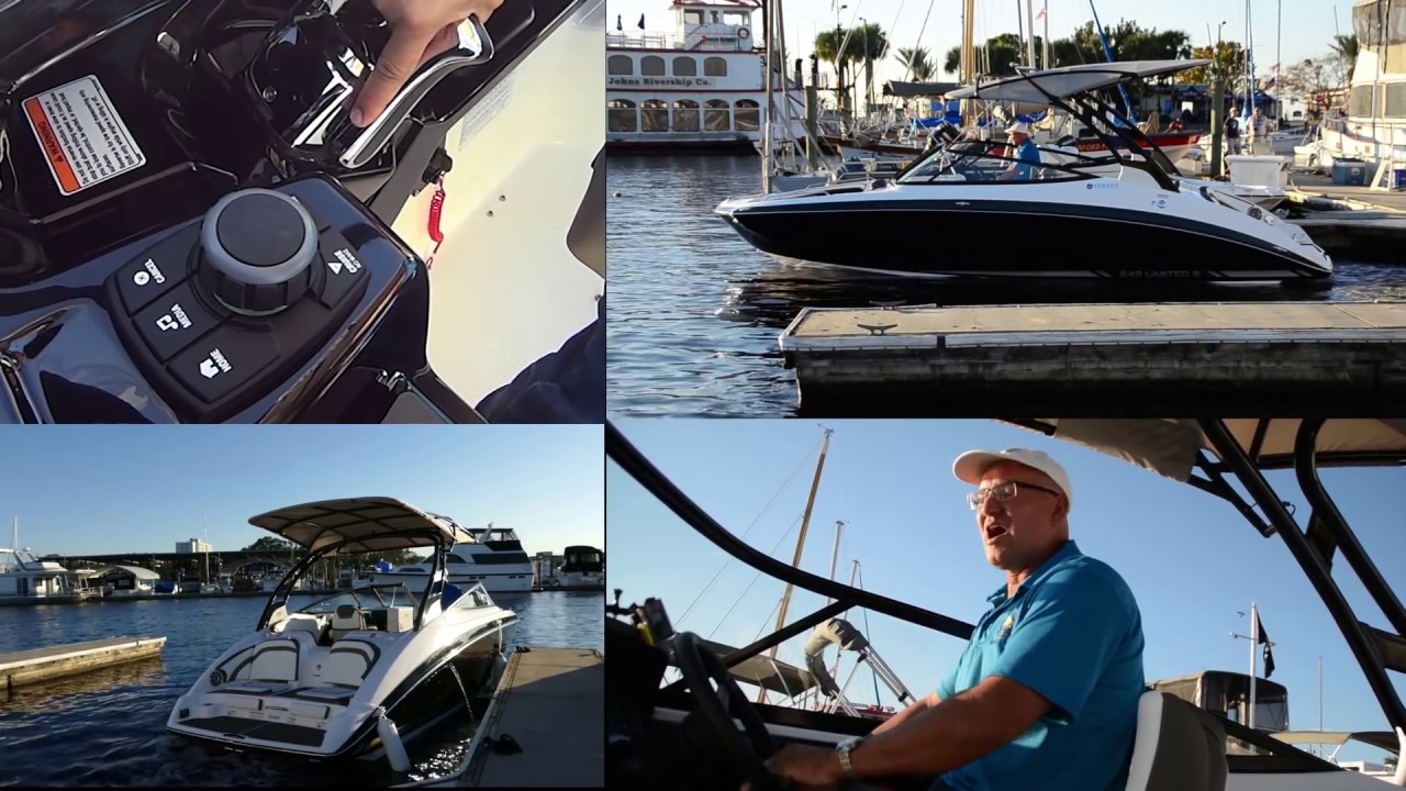 how to dock your boat yamaha jet docking twin how to dock your boat video [ 1280 x 720 Pixel ]